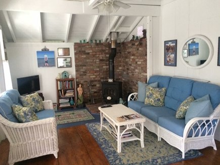 Oak Bluffs Martha's Vineyard vacation rental - Living room with a small, flat screen tv and wifi