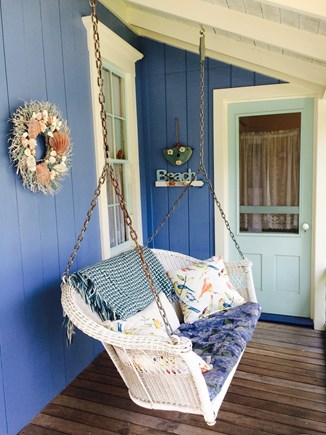 Oak Bluffs Martha's Vineyard vacation rental - Lovely porch swing