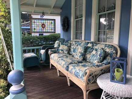 Oak Bluffs Martha's Vineyard vacation rental - Cozy porch