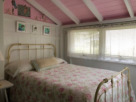 Oak Bluffs Martha's Vineyard vacation rental - The Mermaid room w/antique bed