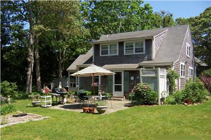 Oak Bluffs, East Chop Martha's Vineyard vacation rental - Backyard and patio area