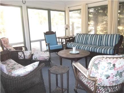Oak Bluffs, East Chop Martha's Vineyard vacation rental - Screened-in porch