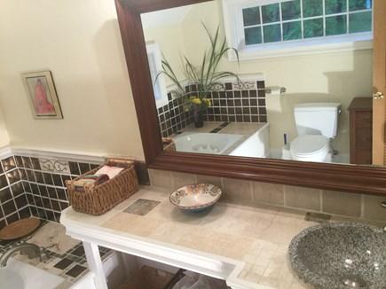 West Tisbury Martha's Vineyard vacation rental - Master Bedroom Full Bathroom