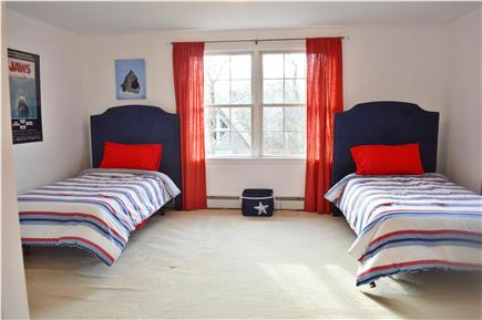 Edgartown Martha's Vineyard vacation rental - Second Upstairs Bedroom with Twin Beds