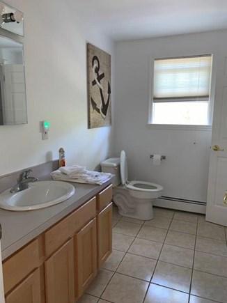 Edgartown Martha's Vineyard vacation rental - Second Floor full bath with deep soaking tub and shower.