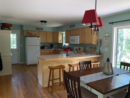 Edgartown Martha's Vineyard vacation rental - Open Kitchen/Breakfast Bar makes for easy cooking and serving.