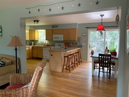 Edgartown Martha's Vineyard vacation rental - Open floor plan is great for socializing and family time.
