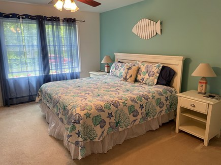 Edgartown Martha's Vineyard vacation rental - First Floor King bed with premium linens and full bath access.