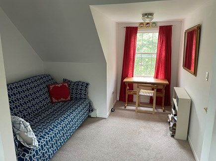 Edgartown Martha's Vineyard vacation rental - Second Bedroom overflow space with full size futon
