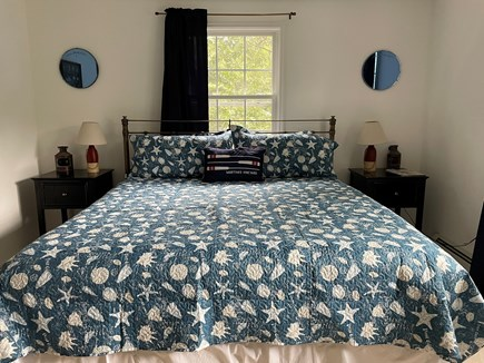 Edgartown Martha's Vineyard vacation rental - Second Floor King Bed is a great resting space after the beach.