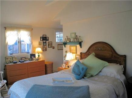 Edgartown Martha's Vineyard vacation rental - Master bedroom has own bath and overlooks gardens
