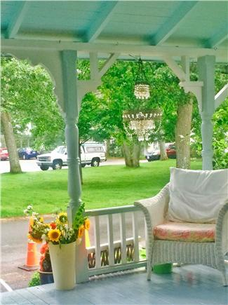 Oak Bluffs Martha's Vineyard vacation rental - Front covered porch