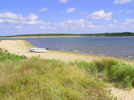 Chilmark Martha's Vineyard vacation rental - Motorboat: explore TG Pond and reach the Quansoo Beach via water!