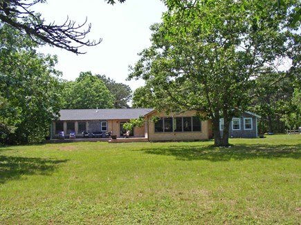 Chilmark Martha's Vineyard vacation rental - Just halfway to the TG Pond waterfront; a big yard to enjoy!