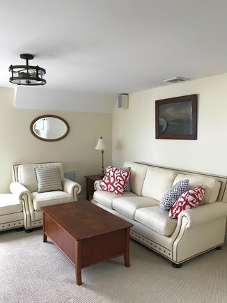 Oak Bluffs, East Chop Martha's Vineyard vacation rental - Upstairs bonus second living area for lounging & enjoying