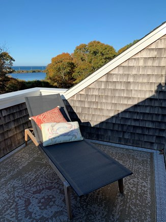 Oak Bluffs, East Chop Martha's Vineyard vacation rental - Private Porch connected to the master bedroom