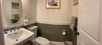 Oak Bluffs, East Chop Martha's Vineyard vacation rental - First Floor half bath next to kitchen