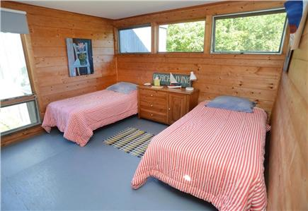 Chilmark Martha's Vineyard vacation rental - In the bunkhouse, two twin beds