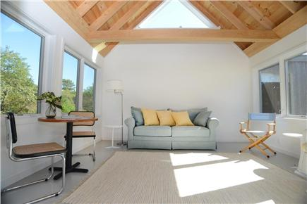 Chilmark Martha's Vineyard vacation rental - Guest quarters living area