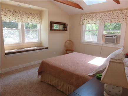 Oak Bluffs, Oak  Bluffs Martha's Vineyard vacation rental - Very comfortable Master Bedroom, window seating, sky light