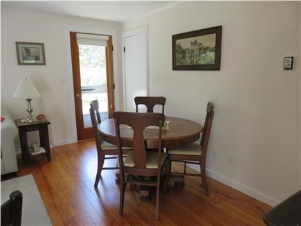Oak Bluffs, Oak  Bluffs Martha's Vineyard vacation rental - Dining area open to Living area and Kitchen