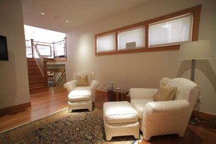 Oak Bluffs, Barnes Road Martha's Vineyard vacation rental - Suite 2: Lounge with access to 2 bedrooms and full bath