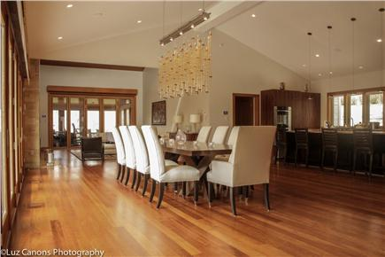 Oak Bluffs Martha's Vineyard vacation rental - Great Room including dining room, living room and kitchen