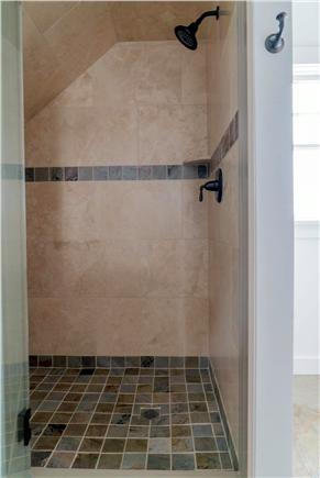 Oak Bluffs Martha's Vineyard vacation rental - Slate tiled master shower
