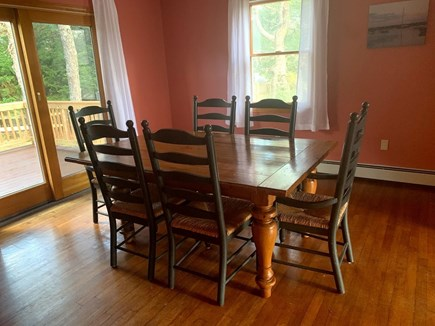 Katama - Edgartown Martha's Vineyard vacation rental - More eating space in dining room.