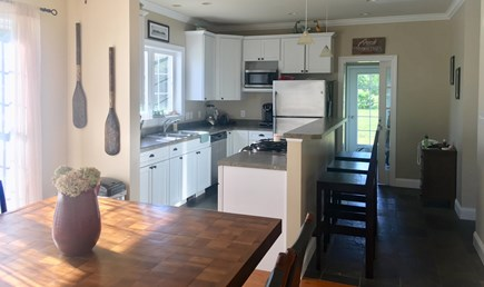 Oak Bluffs Martha's Vineyard vacation rental - Eat-in Kitchen and Dining (Seats up to twelve)