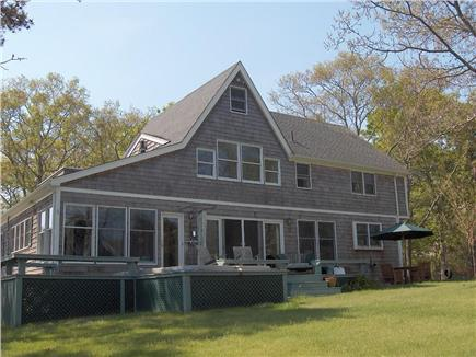 Oak Bluffs Martha's Vineyard vacation rental - Front of water view home
