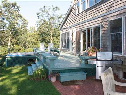Oak Bluffs Martha's Vineyard vacation rental - Deck and swim spa