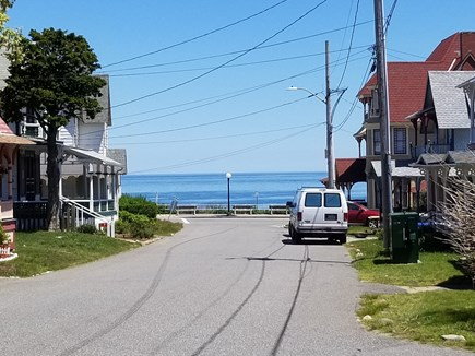 Oak Bluffs Martha's Vineyard vacation rental - Front of the house distance to beach