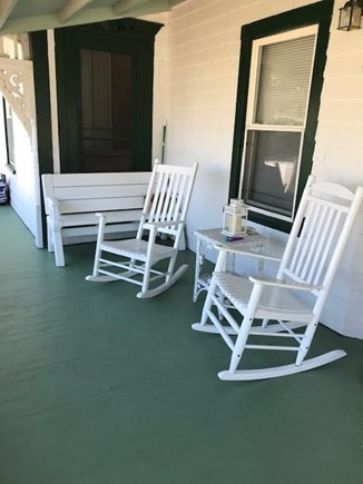 Oak Bluffs Martha's Vineyard vacation rental - Side Porch