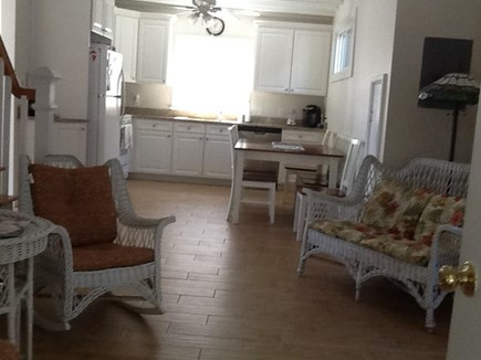 Oak Bluffs Martha's Vineyard vacation rental - Main room open to the Kitchen