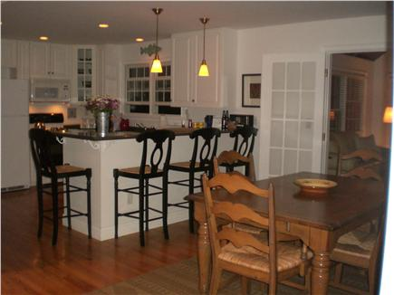 Edgartown Martha's Vineyard vacation rental - Kitchen and dining area
