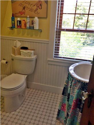Vineyard Haven Martha's Vineyard vacation rental - Upstairs bathroom with shower