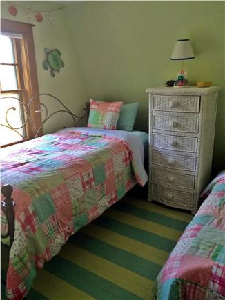 Vineyard Haven Martha's Vineyard vacation rental - 2nd bedroom with 2 twin beds or can be set up as a King bed