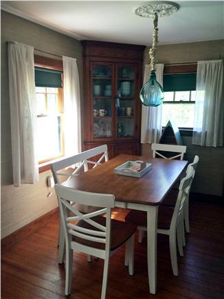 Vineyard Haven Martha's Vineyard vacation rental - Dining room seats 6
