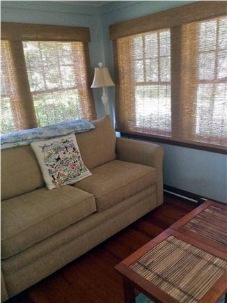 Vineyard Haven Martha's Vineyard vacation rental - Sunroom with sleeper sofa
