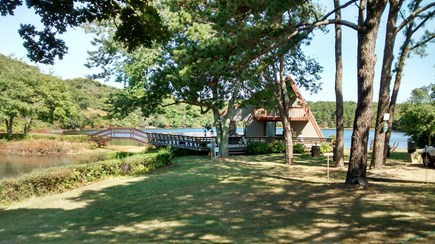 Oak Bluffs Martha's Vineyard vacation rental - Association Clubhouse on Wiggy's Freshwater Pond