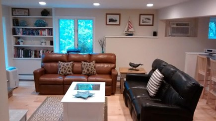 Oak Bluffs Martha's Vineyard vacation rental - Lower Level Living Room