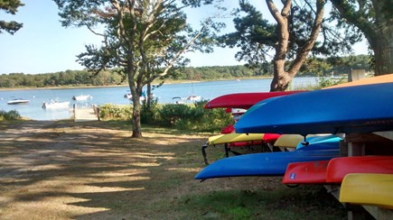 Oak Bluffs Martha's Vineyard vacation rental - Walk to Private Association Dock on Major's Cove with Kayaks