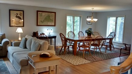 Oak Bluffs Martha's Vineyard vacation rental - Living room & dining room