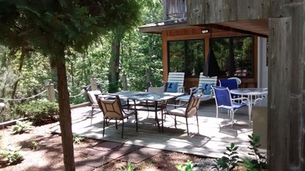 Oak Bluffs Martha's Vineyard vacation rental - Lower Level Deck Area