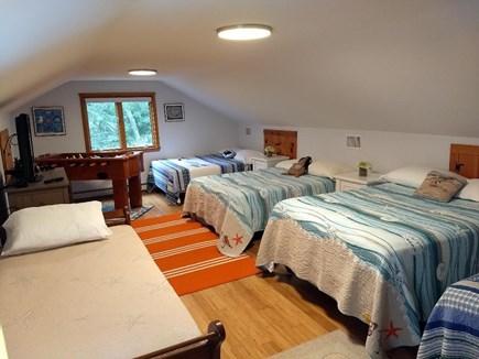 Oak Bluffs Martha's Vineyard vacation rental - Bedroom #5 for Teens/Kids w/TV & Foosball Table