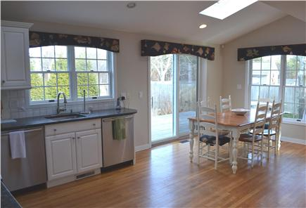 Katama - Edgartown, Katama Martha's Vineyard vacation rental - Spacious eat-in kitchen is fully equipped.