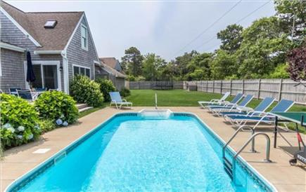 Katama - Edgartown, Katama Martha's Vineyard vacation rental - In-ground pool and spacious backyard.