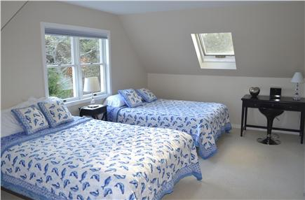 Katama - Edgartown, Katama Martha's Vineyard vacation rental - Light-filled bedroom with 2 queens.