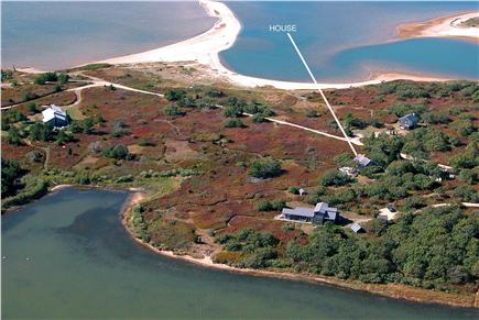 West Tisbury Martha's Vineyard vacation rental - Aerial View